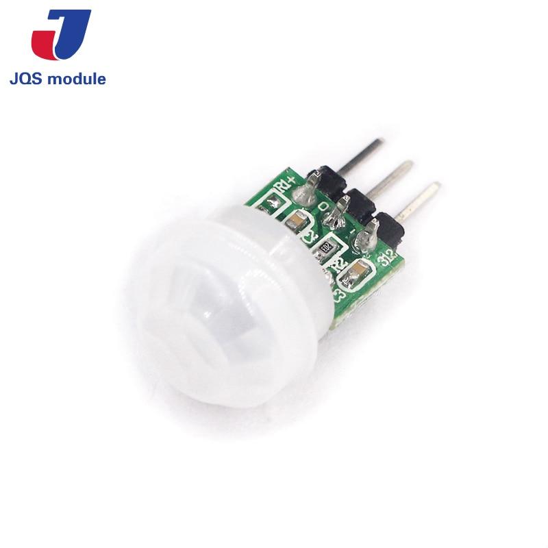 цена на Mini IR Pyroelectric Infrared PIR Motion Human Sensor Automatic Detector Module AM312 Sensor DC 2.7 to 12V