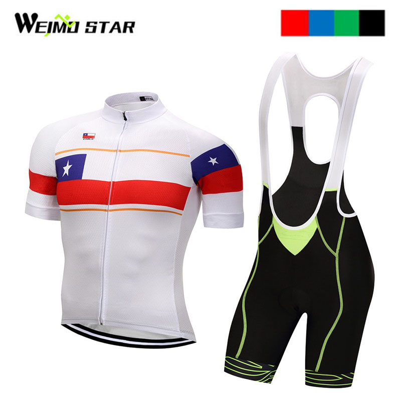 Chile Shirt Cycling jersey Pro Team Weimostar Cycling Clothing maillot ciclismo roupas ciclismo Bib Shorts cycling set-in Cycling Sets from Sports & Entertainment on AliExpress - 11.11_Double 11_Singles' Day 1