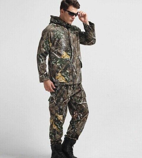G8 hooded windbreaker jacket outdoor tactical twill leaves camouflage fleece windbreaker winter jacket M-XXXL