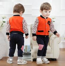 baby tracksuit nba basketball jersey boy winter christmas spring boy patchwork full set jacket +pant sport clothing 2 pcs sets