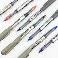 12PCS SCHNEEWITTCHEN Gerade Flüssigkeit Typ Kugelschreiber PVN-166 Rollerball Stift Student Büro Gel Stift Schwarz Rot Blau