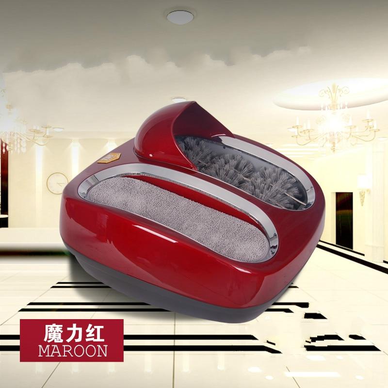 цена  Smart sole cleaning machine Sole cleaning machine automatic shoe polisher shoe washing machine Foot machine Free shipping  онлайн в 2017 году