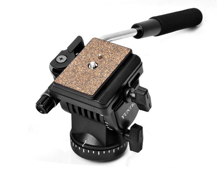 Про YT-950 штатив действие жидкости перетащите руководитель видеокамера для цифровых зеркальных съемки съемки