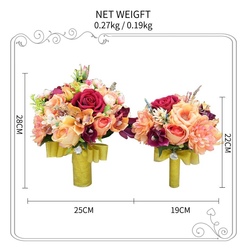 ok  Romantic Synthetic Wedding ceremony Bouquets Flower 2018 Boutonnieres for Groomsman Man Go well with Bridemaid Wrist Corsage Wedding ceremony Equipment HTB1MLmMfrYI8KJjy0Faq6zAiVXaU
