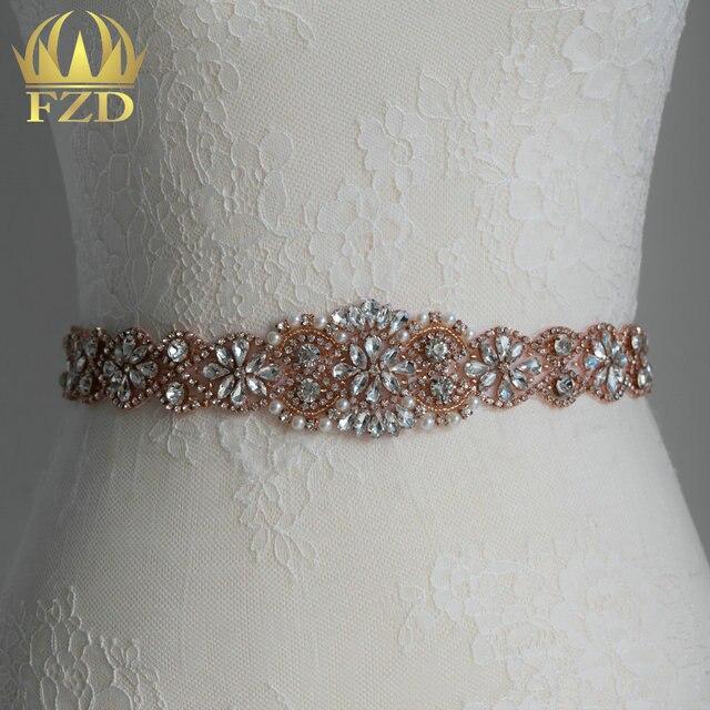 (30 piezas) venta al por mayor Caliente Fix Sew En Oro Rosa de Cristal  Rhinestone de la Perla ... 8010415a1517