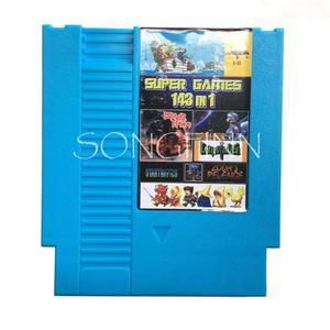 Image 2 - En 143 in 1 Oyun Kartuşu Kart 72 Pin 8 Bit video oyunu Konsolu Retro Kart oyun Earthbound Fantezi 1 2 3 tasarrufu