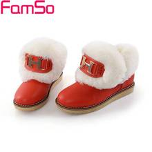 Big Size34-43 2017 New Sexy Women Winter Snow Boots Short Fur Boots Women's Warm Ankle Boots Female Tassel Boots SBT552