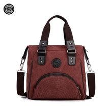 Original jinqiaoer taomaomao frauen wasserdichte leinwand umhängetasche hand taschen weiblichen casual reisetaschen mode-stil