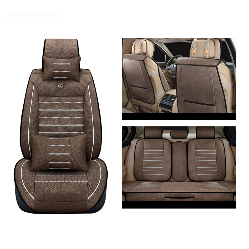 XWSN linen Car Seat Covers for chrysler voyager 300C PT Cruiser Grand Sebring car styling auto accessories car seatsXWSN linen Car Seat Covers for chrysler voyager 300C PT Cruiser Grand Sebring car styling auto accessories car seats