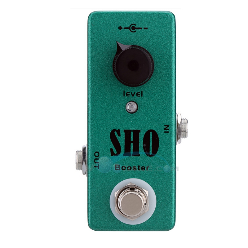 Mosky SHO Booster Guitar Effect Pedal Mini Single Knob Controls with True Bypass Switching aroma adr 3 dumbler amp simulator guitar effect pedal mini single pedals with true bypass aluminium alloy guitar accessories