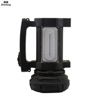 New Led Handheld Searchlight Charging Hard Light Hand Lamp Torch Superbright Waterproof Outdoor Flashlight Emergency Light
