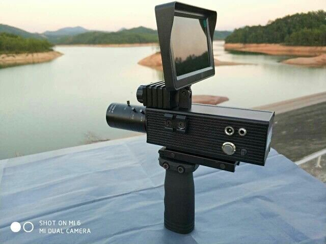 12MP Day&Night Riflescope DIY Night Vision Scope with HD 4.3 LCD Screen 12mp day