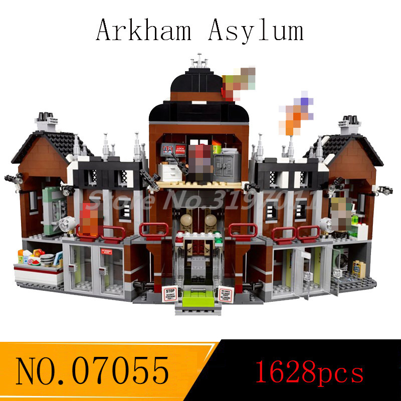 DC Superheroes Batman Series Building Blocks Arkham Asylum Joker Robin Model Figure Sets Educational Toys For Children Gifts цена и фото