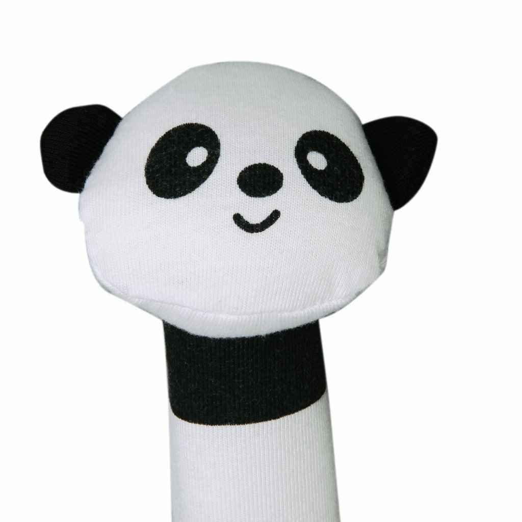 Новая форма панда Ткань пищалка звуковая панель детские игрушки