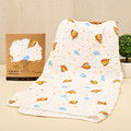 Baby Soft Muslin Blanket Newborn Infant 6 Layers Gauze Blanket Baby Wrap Swaddle 100% Cotton Bath Towel Super Absorbent 90*90cm