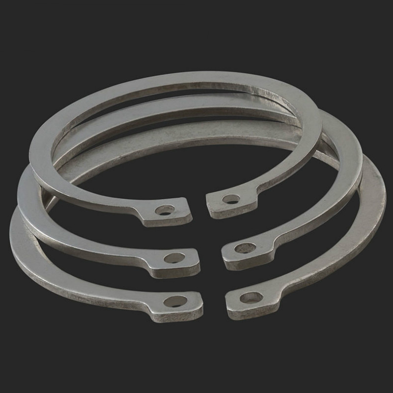 2pcs M60 M62 M65 M68 M70 M72 M75 Gb894 Stainless Steel 304 Shaft Retaining Ring Outer Card Circlip Snap Ring C-type Circlip To Invigorate Health Effectively Home Improvement