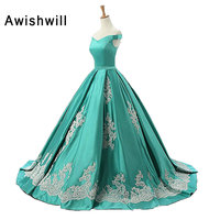 New Arrival Vintage Evening Dress Formal Ball Gown Robes De Soiree Longues Party Gowns Prom Dress