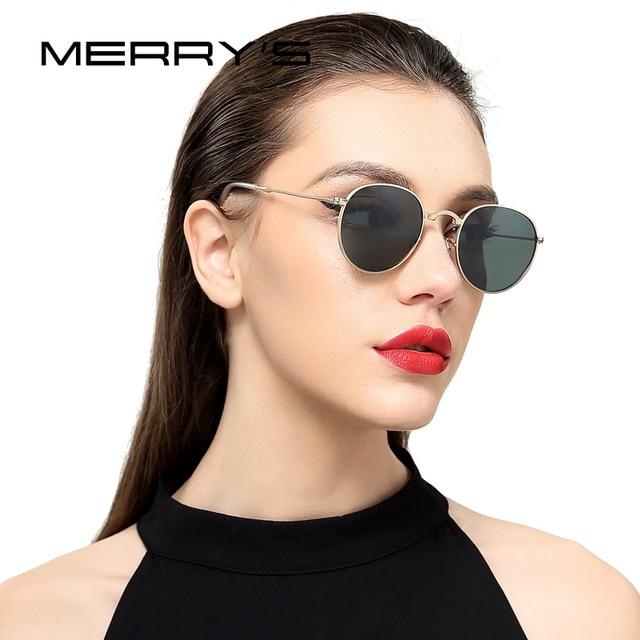 a4842922527 MERRY S Retro Women Folded Sun Glasses Men Classic Polarized Oval Sunglasses  S 8093-in Sunglasses from Apparel Accessories on Aliexpress.com
