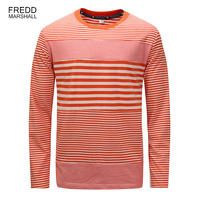 Brand  Autumn Winter  New Arrival Fashion T-Shirt striped tshirt long sleeve men  Casual Male Plus Size 100% Cotton