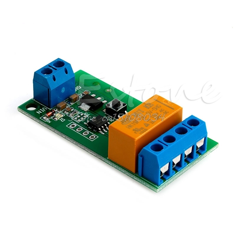 For DC 5V~12V Motor Reverse Polarity Cyclic Switch Timer Time Repeater Delay Relay bic 0.5 mm mechanical pencil