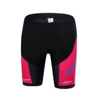 TELEYI Black Color Bicycle Ciclismo MTB Bike Sportswear Women Breathable Gel Bib Short Bike Team Cycling