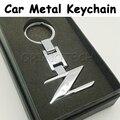 Fashion Auto Car Metal Z Keychain Key Chain Key Ring For Nissan 240ZX 280ZX 300ZX 350Z 370Z Z
