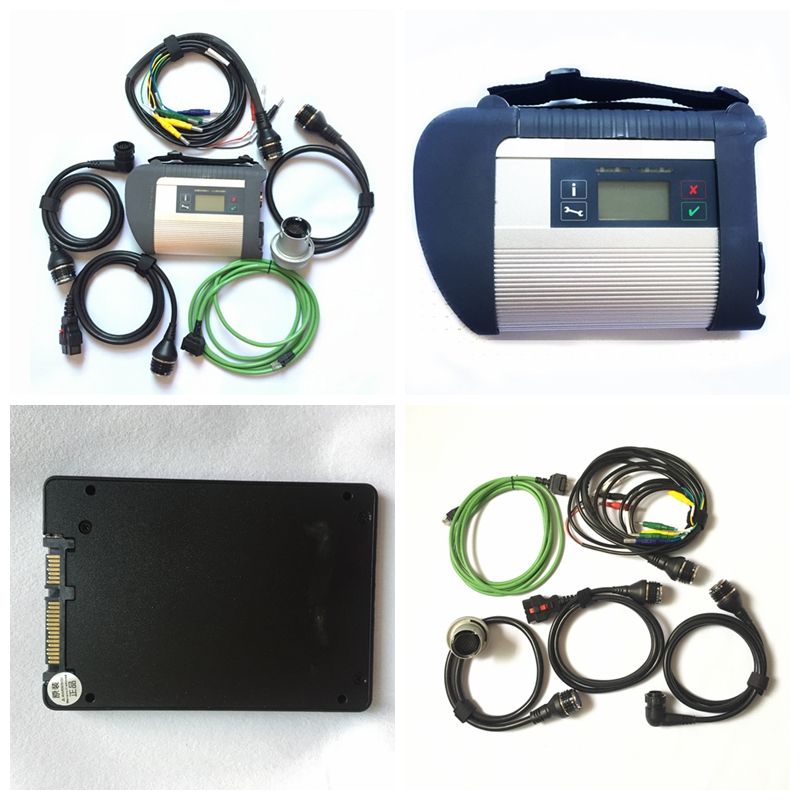 Hot MB Star C4 With SSD SD connect C4 software diagnostic auto professional program tool main unit Cheap For mb car/truck Cheap
