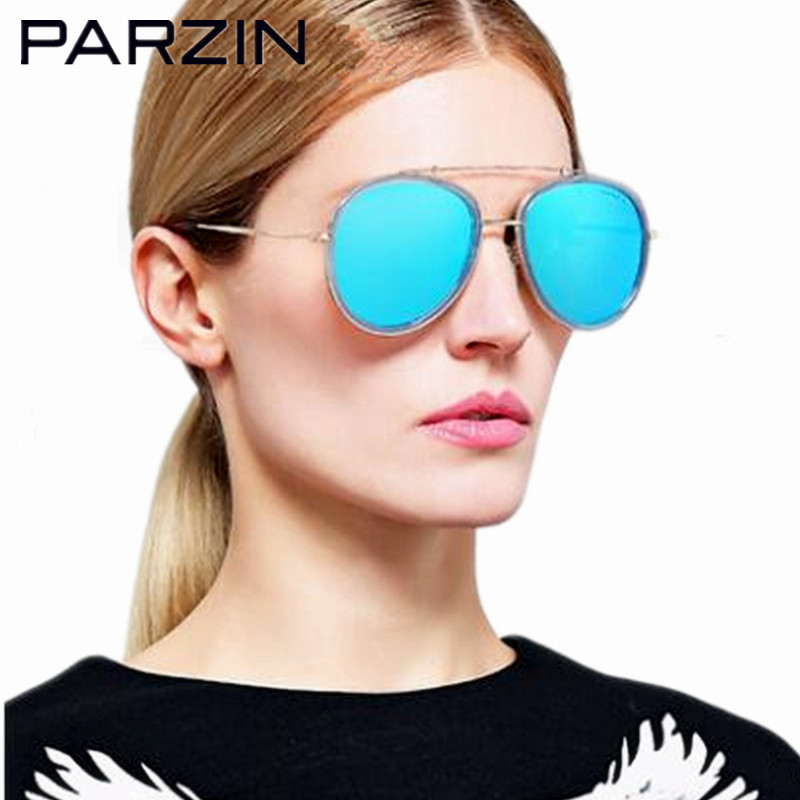 Parzin Polarisé Hommes lunettes de Soleil Femmes Coloré Amant De Mode  Lunettes de Soleil Femme Soleil Lunettes Pour Conduite Avec Cas Noir 8096 d9555ae9ef72