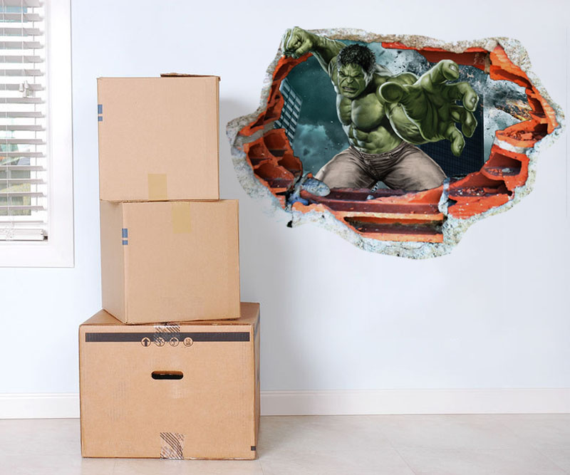 Popular hulk stickers buy cheap hulk stickers lots from for Where can i find cheap home decor