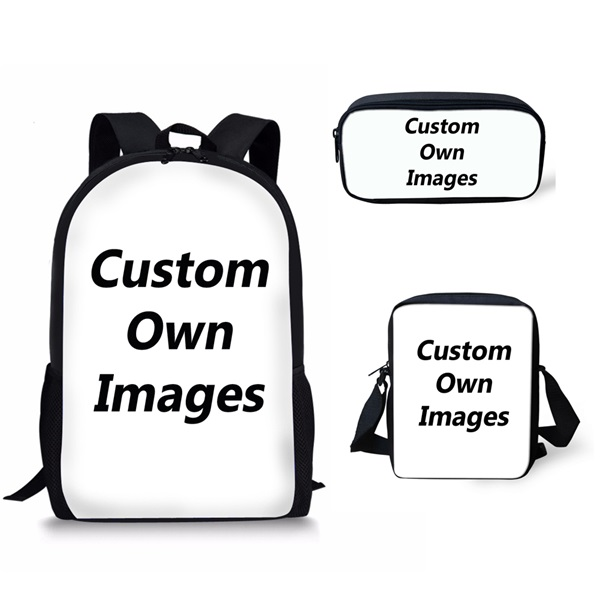 7adf2936bd7d US $8.13 26% OFF|INSTANTARTS Casual 3PCS Children School Bags Cool 3D Fire  and Ice Soccerly/Foot Ball Printed Primary Students Backpacks Satchels-in  ...
