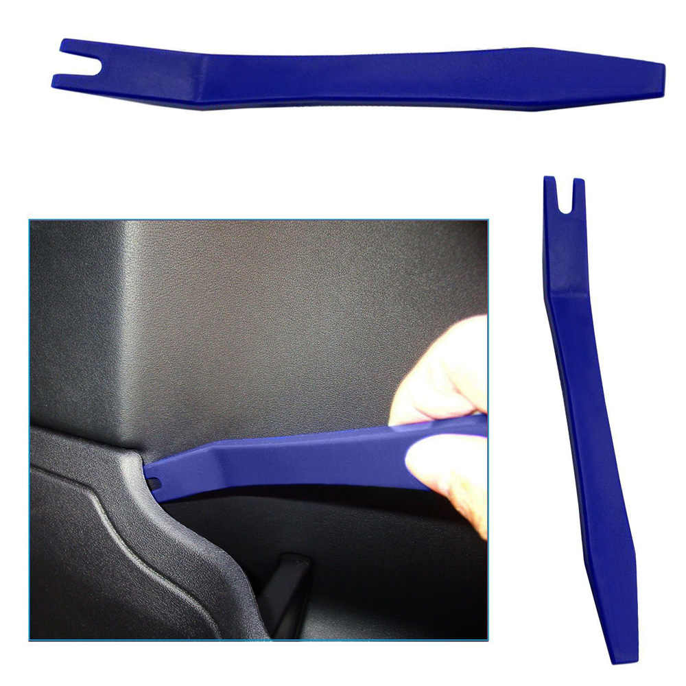 12 stks Blauw Auto Audio Dash Tirm Panel Installer Binnendeur Modellering Clip Set Dashboard Removal Opening Reparatie Tool Kit