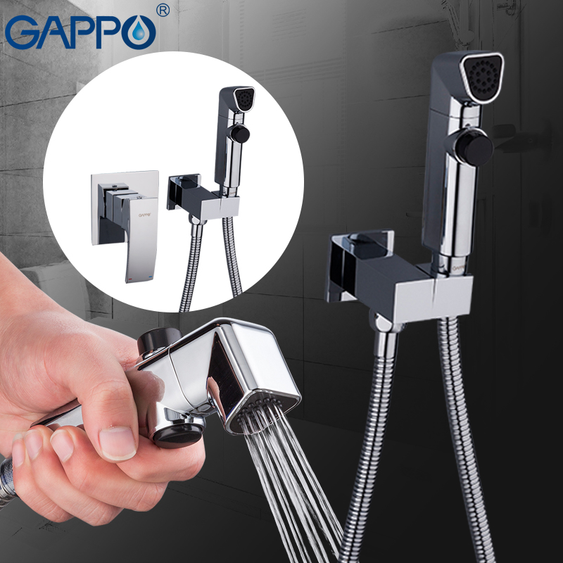 GAPPO Bidets muslim bidet toilet sprayer bathroom handheld shower washer tap mixer wall mount ducha higienica gappo bidet faucets muslim shower toilet bidets sprayer hygienic shower wall mount washer mixer tap