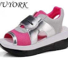 Новинка Лидер продаж Лето Чистая сандалии женщина обувь для ходьбы 8090