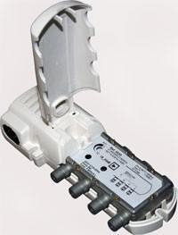 Amplificateur de télévision intérieur 2 S 20dB retour téléviseurs