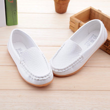 2016 New Boys Girls Leather Shoes Baby Moccasins kids Shoes Loafers Sneakers Fashion Children Shoes For