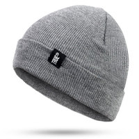 Winter Snow Ski Hat Unisex Warm High Bun Ponytail Stretch Knitted Woolen Hiking Snowboard Sport Cap