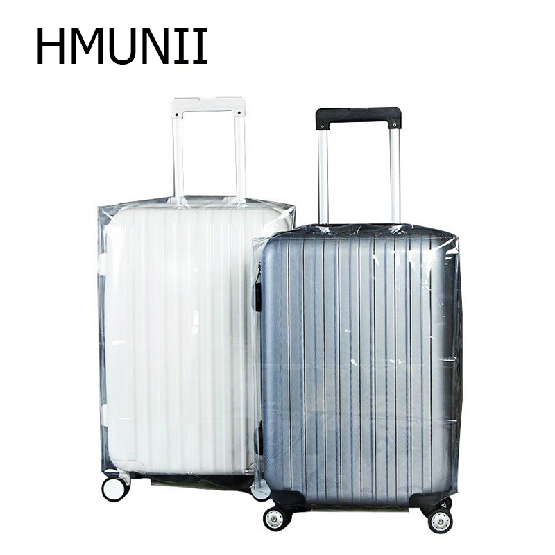 2019High Quality PVC Matte Transparent Waterproof Suitcase Protective Cover Travel Luggage Trolley Case Thicker Wear Dust Covers