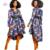 2017 Otoño Dashiki Africano batik tradicional capa de las mujeres robe longue femme Bazin Riche de impresión capa de las mujeres más el tamaño 5xl BRW WY1051