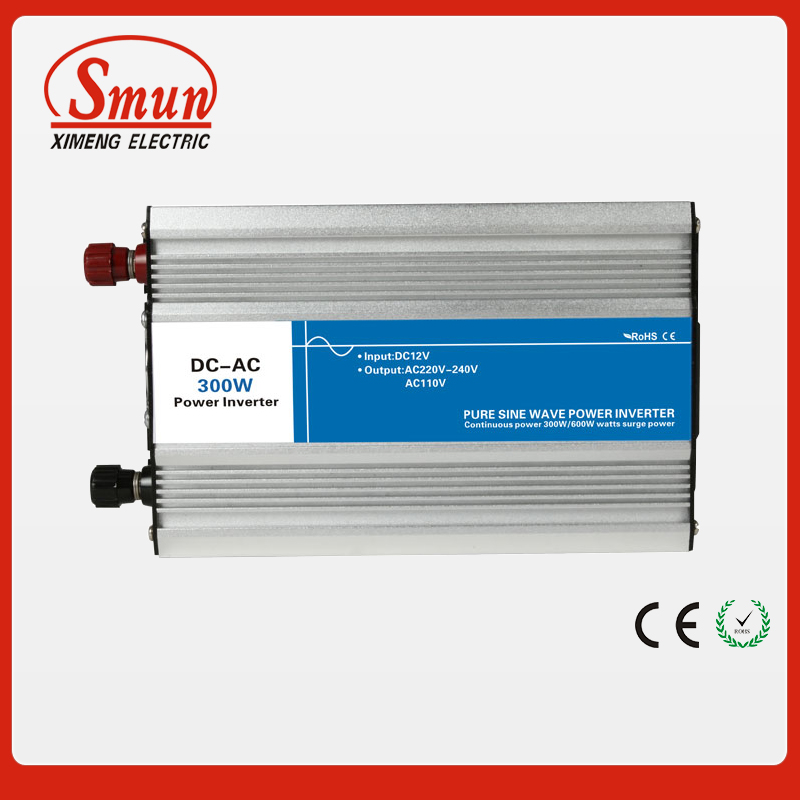 300W 48VDC to 220VAC Off Grid Pure Sine Wave Inverter For Home Appliances 300w pure sine wave inverter 48vdc to 110vac 220vac off grid inverter 300w