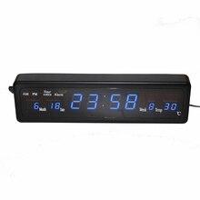 fce5163edc2 Carrilhão de hora em hora de Mesa Despertador Eletrônico Digital LEVOU  Relógio de Parede com Temperatura
