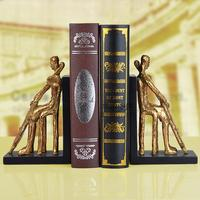 American Retro Finishing Bookend Fashion Antique Resin Bookend Book End Vintage Bookend
