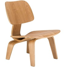 Lounge-Chair Plywood Replica Living-Room-Furniture Mid Century with Ash Natural for Accent