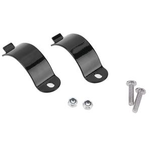 Image 5 - Soporte Universal para faro de motocicleta, 28mm 43mm, horquilla, picadora, ajuste del Motor, color negro