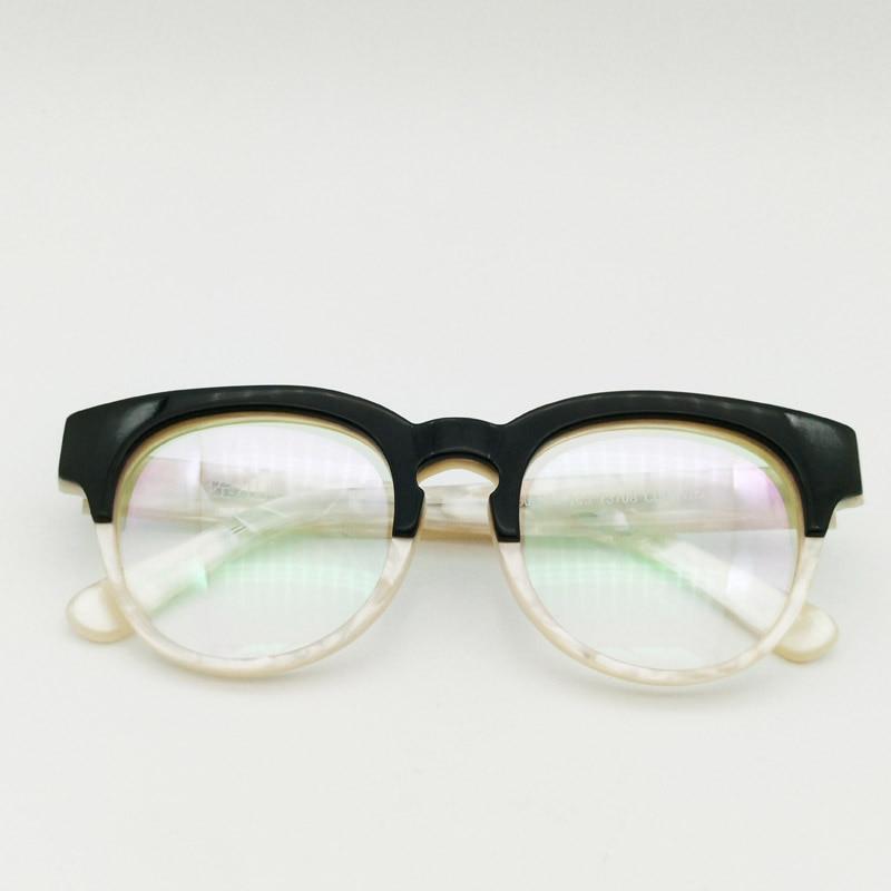 daf1b1b6e6 Thick Acetate Retro Vintage Marble Eyeglasses Full-rim Glasses ...