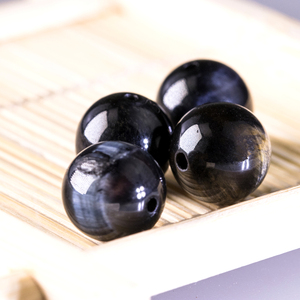 Image 5 - Wholesale Beading 4 14mm Natural Stone Beads Blue Tiger eye Beads Stone Beads for jewelry making