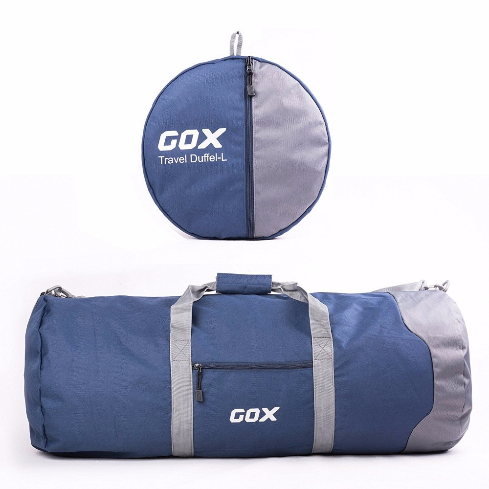 93 L Large Capacity Waterproof Nylon Travel Bag Folding Multi function Luggage Travel Duffle Bags Nylon Big Travel Handbag