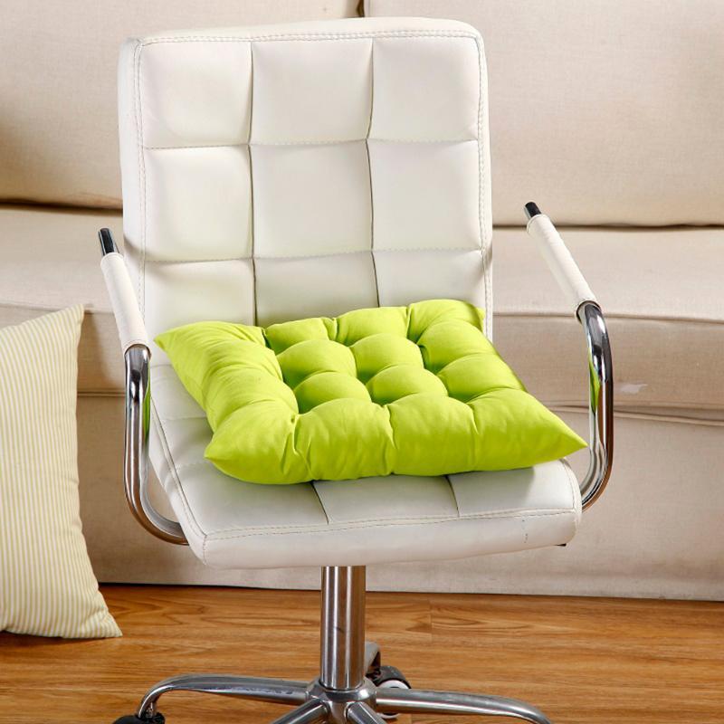 11 Colors Seat Cushion Pearl Cotton Chair Back Seat Cushion Sofa Pillow Buttocks Comfortable Chair Cushion Winter Bar Home Decor