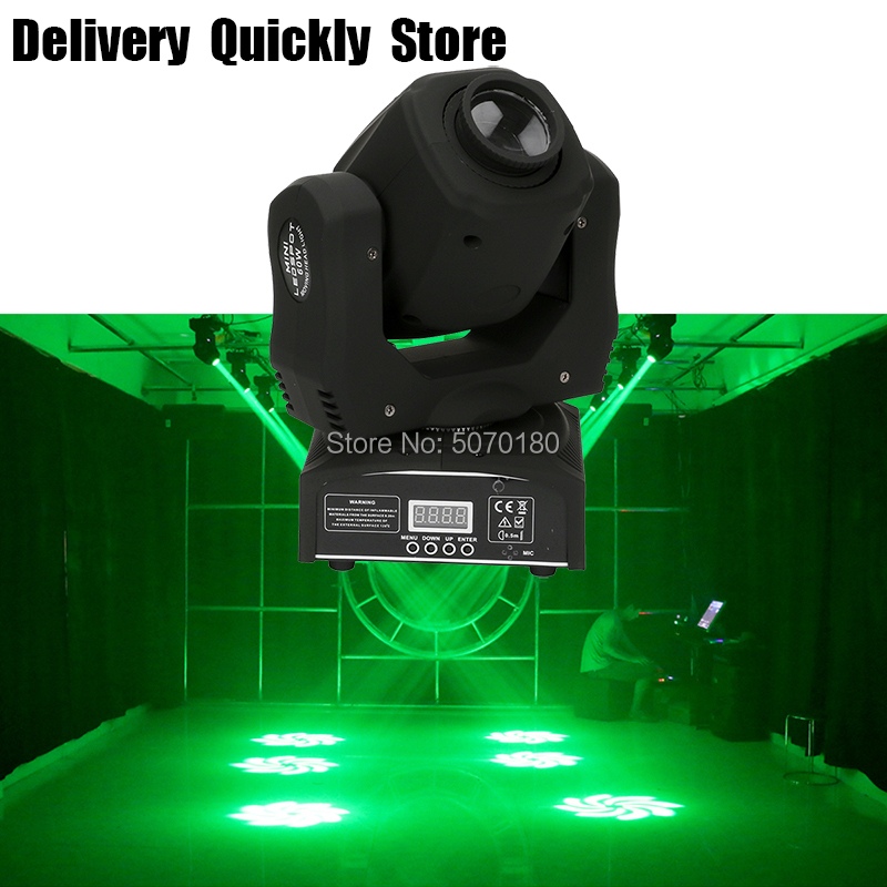 Good Effect 3 Prisms Rotate Mini 60W Led Disco Images Moving Head Good Use For Home Party Disco KTV Night Club Dance