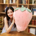 Weiche Erdbeere Ananas Gefüllte Kissen Sofa Kissen Obst Plüsch Baby Spielzeug Für Kinder Geburtstag Geschenk für Kinder Mädchen Freunde