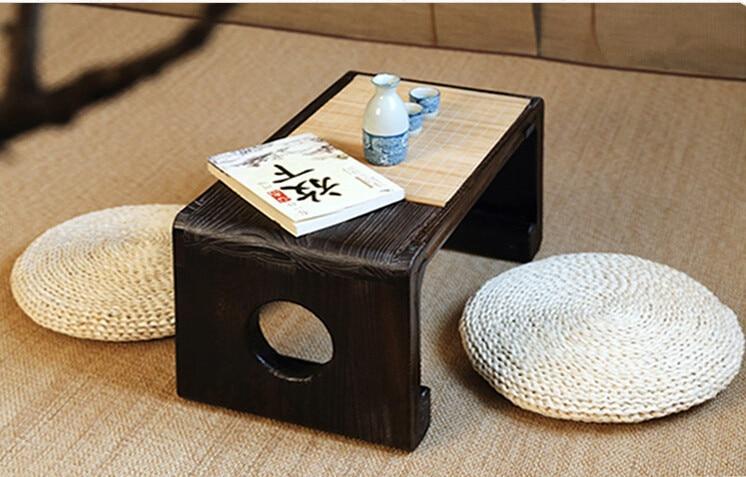 Rytietiški baldai Kiniškas žemas arbatos stalas Mažas - Baldai - Nuotrauka 4